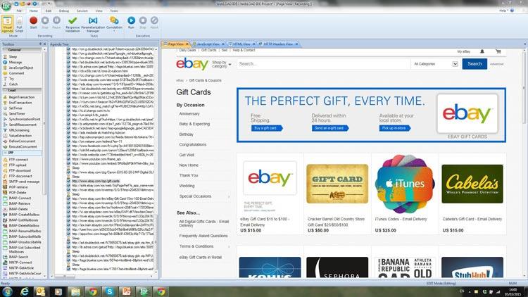 webload-ebay-page