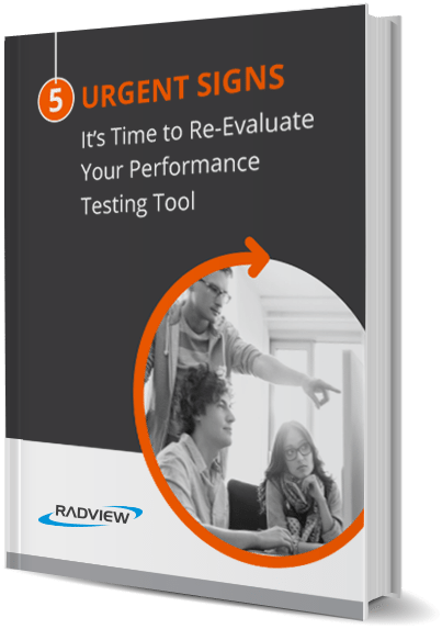 Signs to re-evaluate performance testing tool