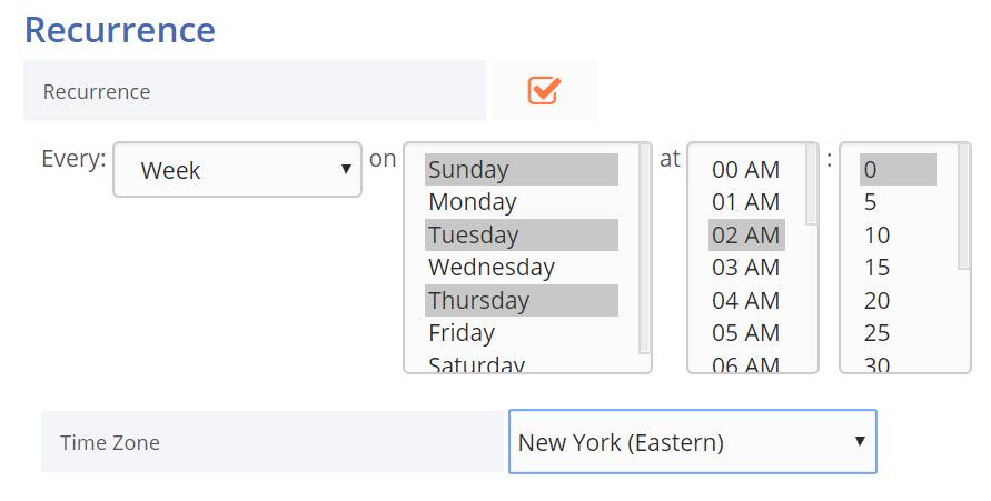Advanced Test Scheduling